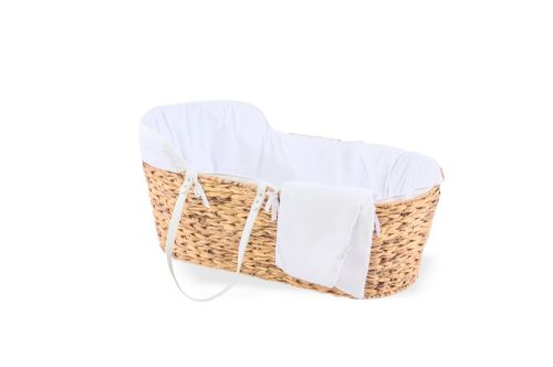 Hyacinth Moses Basket - Cotton Dream White